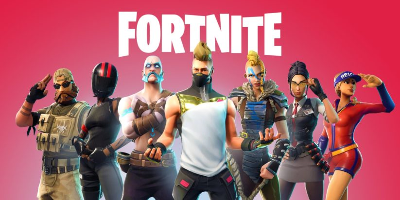 Le jeu Fortnite sur Nintendo Switch