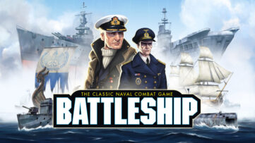 Jeu Battleship sur Nintendo Switch : artwork du jeu