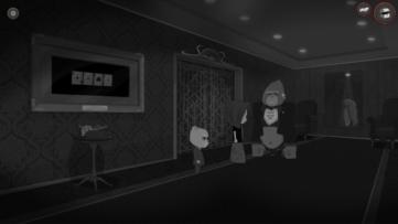 Jeu Bear With Me sur Nintendo Switch : interrogatoire du gorille du casino