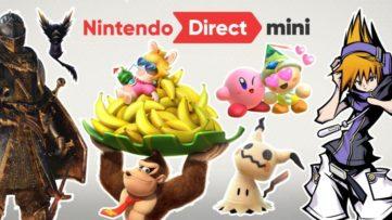 Bilan du Nintendo Direct Mini du 11 janvier 2018 : des jeux Switch, des portages et un remaster