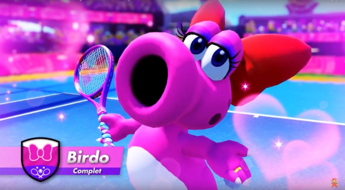 Jeu Mario Tennis Aces sur Nintendo Switch : Birdo rejoint le casting en ce mois d'octobre !