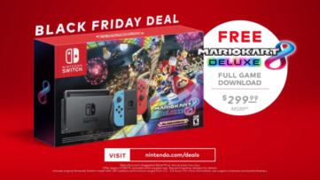 [Black Friday] Mario Kart 8 Deluxe offert avec la Nintendo Switch néon