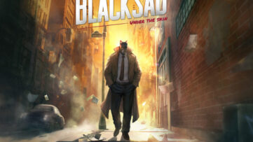 Jeu Blacksad: Under The Skin sur Nintendo Switch : artwork du jeu