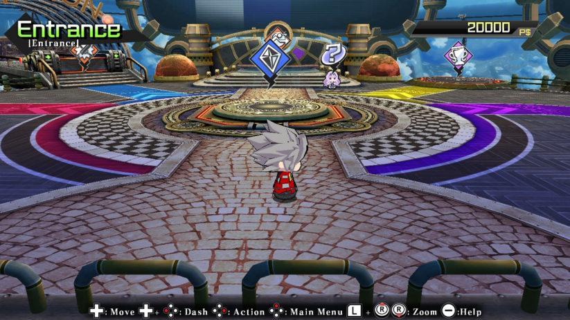 Ragna the Bloodedge vous accompagnera dès le début du jeu