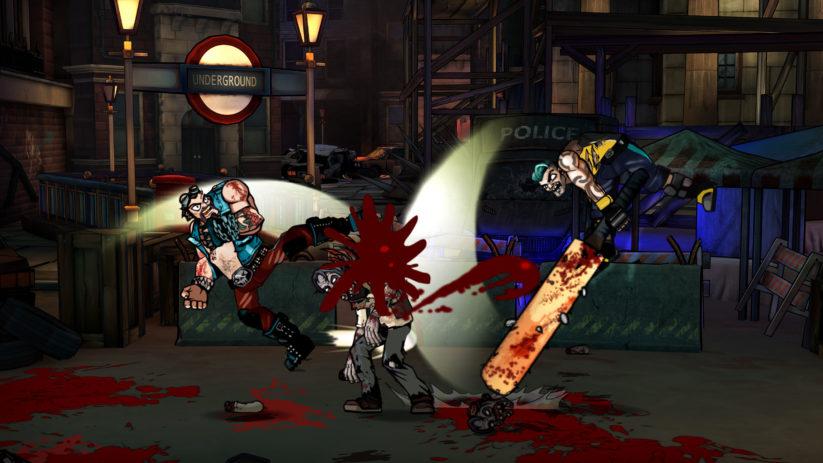 Jeu Bloody Zombies sur Nintendo Switch : coopération en duo