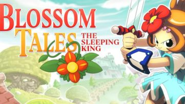 Jeu Blossom Tales sur Nintendo Switch : artwork du jeu