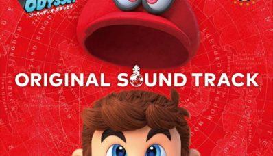 La bande originale de Super Mario Odyssey aura sa version physique
