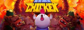 Jeu Bomb Chicken sur Nintendo Switch : artwork du jeu