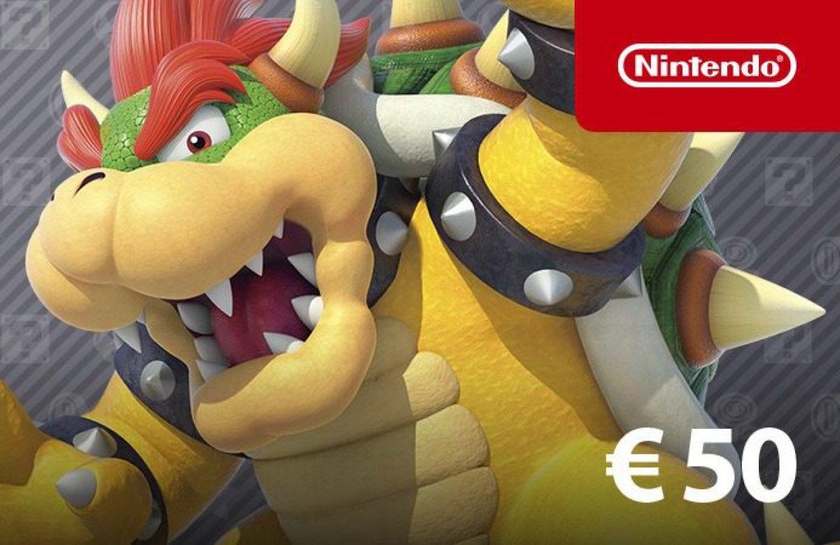 [Bon plan Fnac] 10€ offerts aux adhérents pour une carte eShop 50€