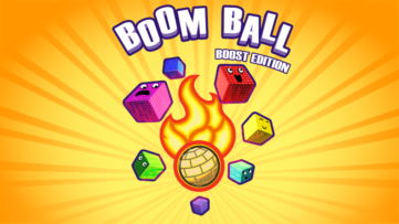 Jeu Boom Ball : Boost Edition sur Nintendo Switch : artwork du jeu