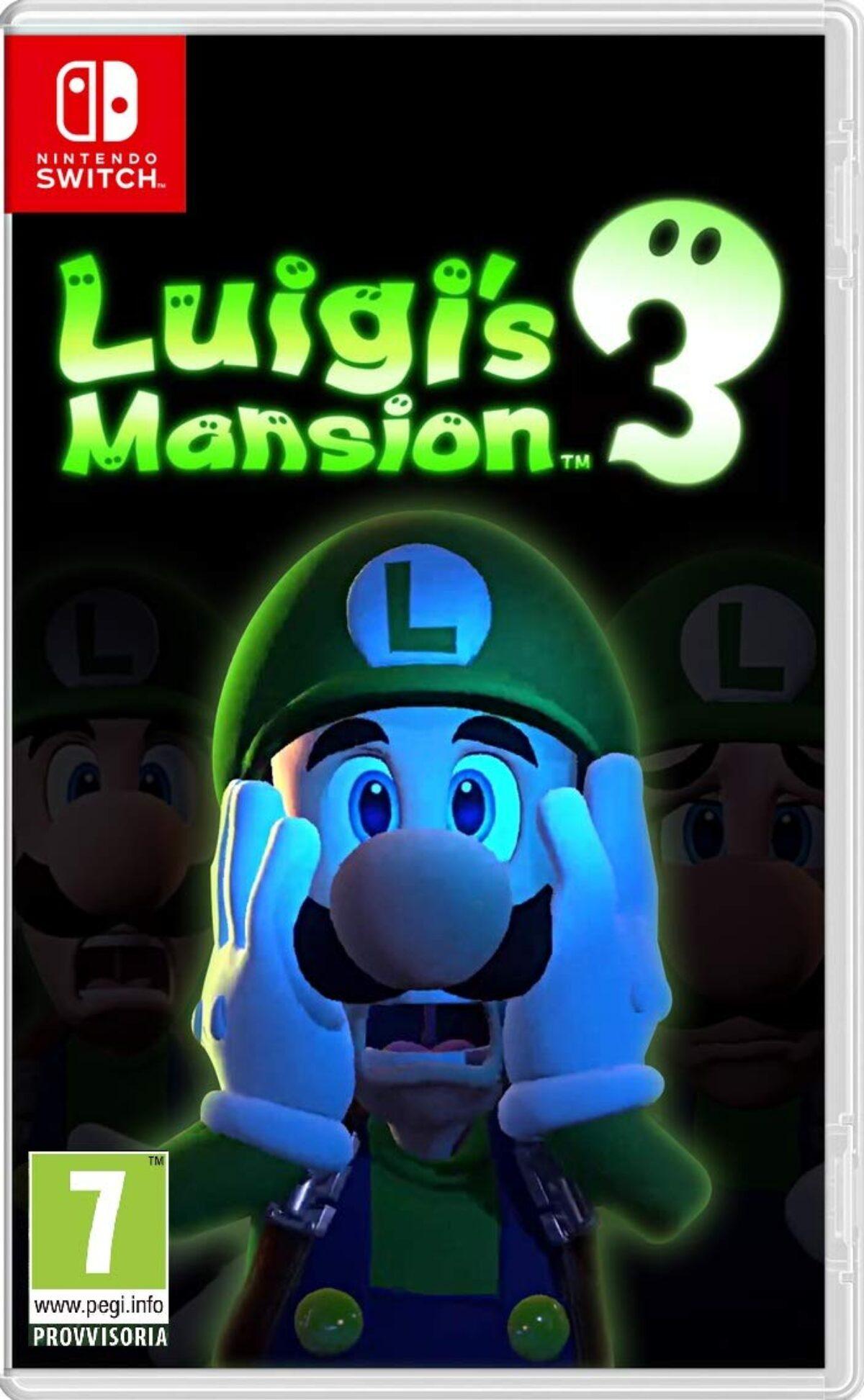 Boxart provisoire du jeu Luigi's Mansion 3 sur Nintendo Switch