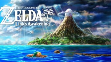 Boxart du jeu The Legend of Zelda Link's Awakening sur Nintendo Switch