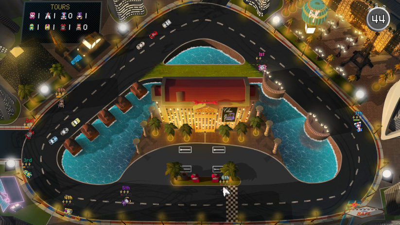 Jeu Brakes Are For Losers sur Nintendo Switch : Circuit Vegas