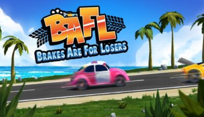 Jeu Brakes Are For Losers sur Nintendo Switch : écran titre