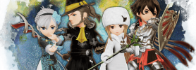 Jeu Bravely Default II sur Nintendo Switch : artwork du jeu