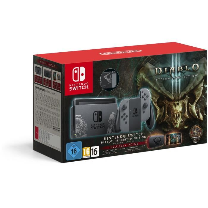 Pack Nintendo Switch Diablo 3 Eternal Collection : packaging
