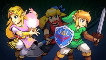 Jeu Cadence of Hyrule sur Nintendo Switch : artwork du jeu