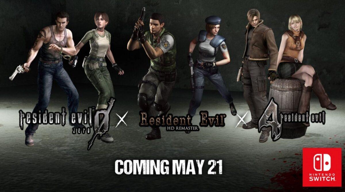 Capcom annonce Resident Evil, Resident Evil Zero et Resident Evil 4 le 21 mai