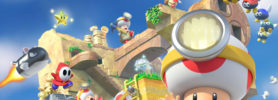 Captain Toad Treasure Tracker sur Nintendo Switch : photo de famille