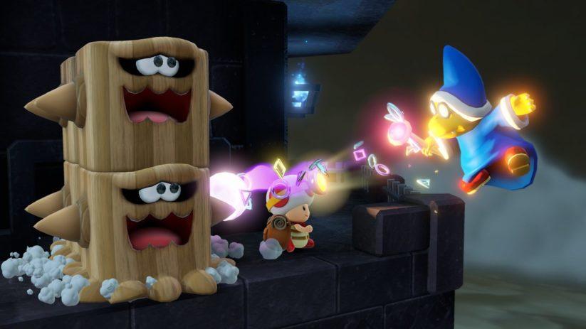 Jeu Captain Toad : Treasure Tracker sur Nintendo Switch : même les Kamek sont de la partie