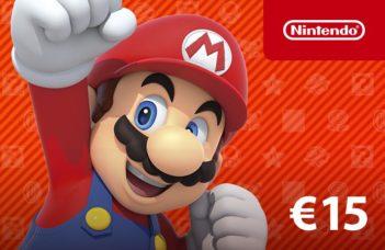 Carte Nintendo eShop Mario chez Startselect : valeur 15€
