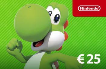 Carte Nintendo eShop Yoshi chez Startselect : valeur 25€