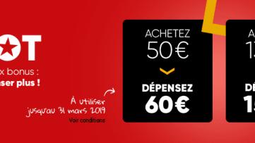 [Bon plan] Retour des cartes Jackpot Fnac bonifiées 60€ et 150€ (mars 2019)