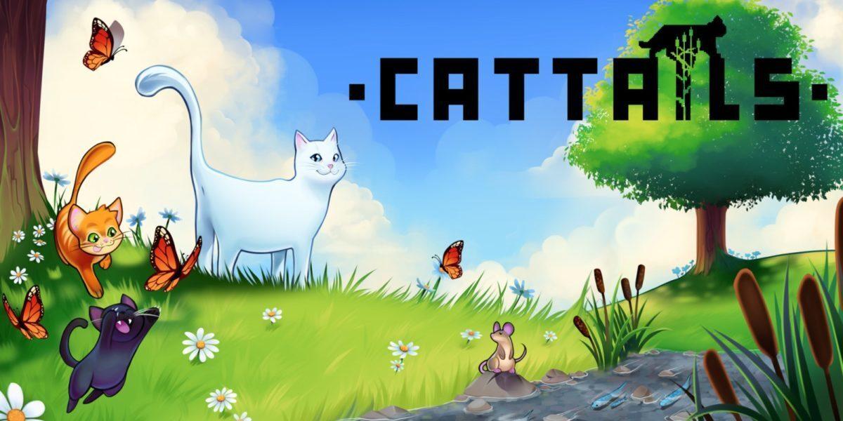Jeu Cattails sur Nintendo Switch : artwork du jeu