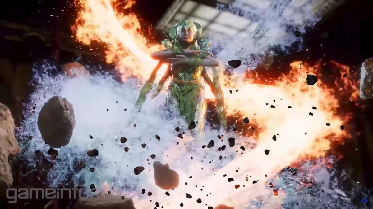 Cetrion, une kombattante inédite dans Mortal Kombat 11