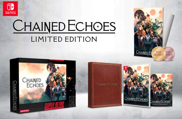 Version physique en édition limitée de Chained Echoes sur Nintendo Switch