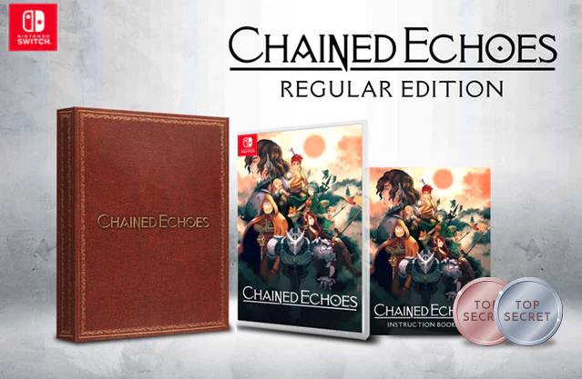 Version physique standard de Chained Echoes sur Nintendo Switch