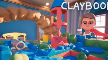 Jeu Claybook sur Nintendo Switch : artwork du jeu