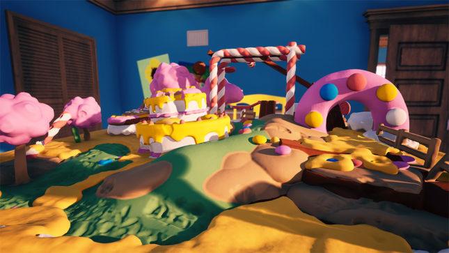 Jeu Claybook sur Nintendo Switch : le jeu est très coloré