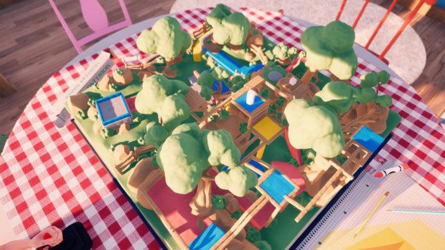 Jeu Claybook sur Nintendo Switch : présentation d'un niveau