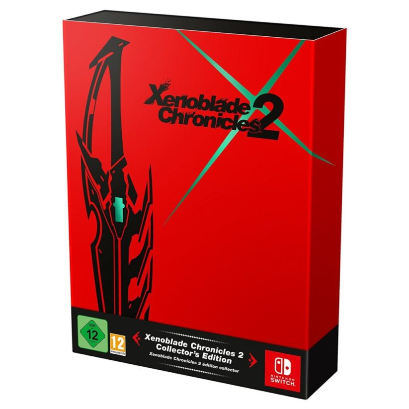 Boite du jeu Nintendo Switch Xenoblade Chronicles 2 version collector
