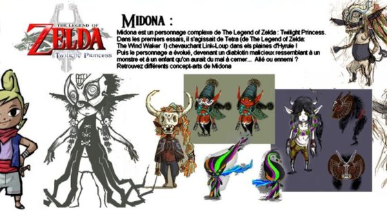 Art concept de Midona dans Zelda Breath of the Wild