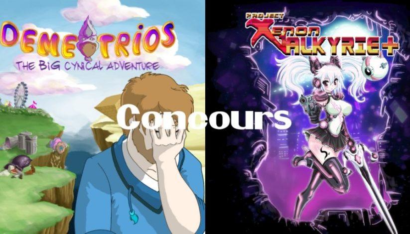 Concours : gagnez les jeux Demetrios et Xenon Valkyrie+