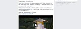Concours : gagnez 5 jeux Lego Ninjago