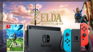 Concours : gagnez un pack Nintendo Switch avec Joy-Con néon + The Legend of Zelda : Breath of the Wild