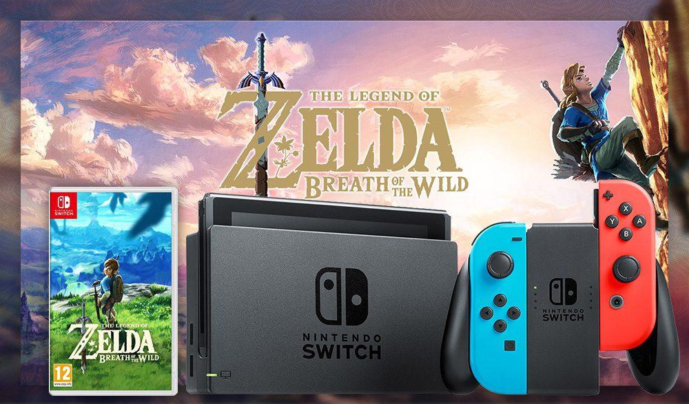Concours : gagnez un pack Nintendo Switch avec Joy-Con néon + The Legend of Zelda : Breath of the Wild
