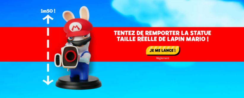 Concours Fnac Mario + The Lapins Crétins Kingdom Battle : gros lot