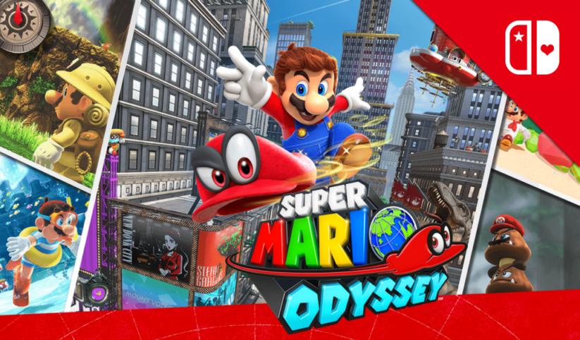 Concours : gagnez le jeu Super Mario Odyssey