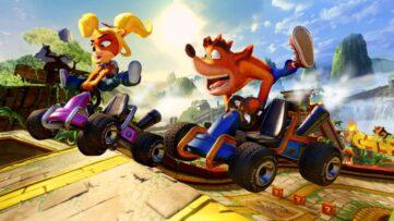 Tous les contenus Crash Nitro Kart inclus dans Crash Bandicoot Team Racing Nitro Fueled