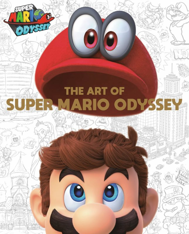 Artbook The Art of Super Mario Odyssey : couverture