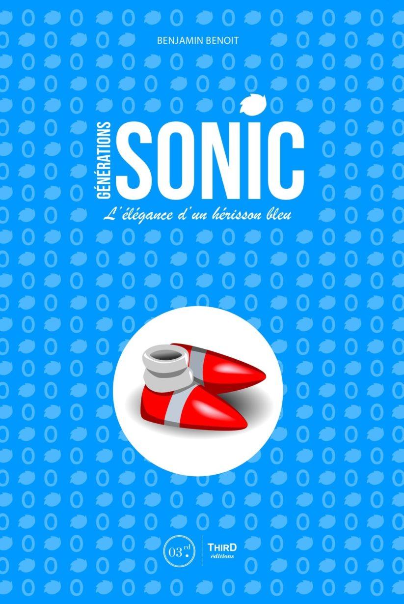 Couverture du livre Sonic L'élégance d'un hérisson bleu écrit par Benjamin Benoît