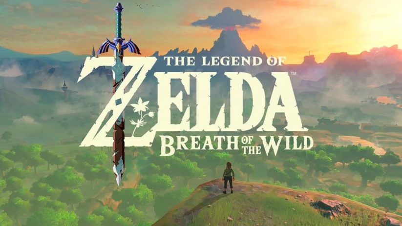 Cover de The Legend of Zelda : Breath of the Wild