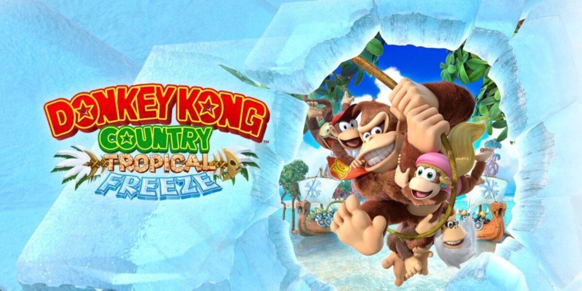 Cover du jeu Nintendo Switch Donkey Kong Country Tropical Freeze