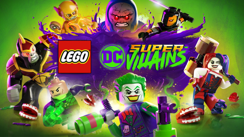 Cover du jeu Lego DC Super-Vilains sur Nintendo Switch