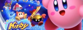 Cover de Kirby Star Allies sur Nintendo Switch avec personnages