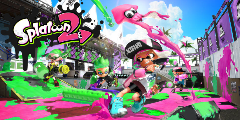 Cover de Splatoon 2